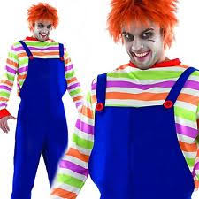 chucky costumes complete costumes chucky for men ebay