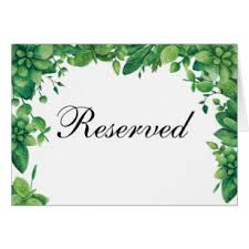 reserved signs for wedding tables reserved table signs gifts gift ideas zazzle uk