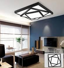 modern square stack ceiling warm white or cool white led light