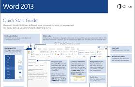 download microsoft office 2013 quick start guides in pdf format
