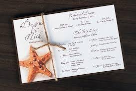 destination wedding itinerary template starfish tropical destination wedding itinerary