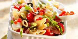cuisine pates salade de pâtes à l italienne facile et pas cher recette sur