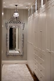Floor To Ceiling Mirror by Glamorous Walk In Closet With Venetian Floor Mirror Gray Walls