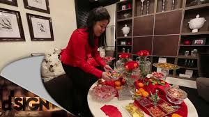 Cny Home Decor Dsign How To Decorate Living Room For New Year