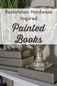 Restoration Hardware Inspired} Painted Books