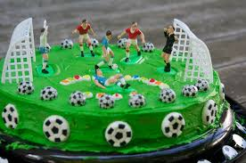 ideas for how to make soccer birthday party cake the restaurant