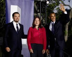 watch president obama and leonardo dicaprio talk climate change