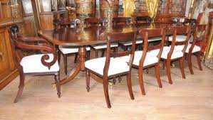 William Iv Dining Chairs Mahogany Dining Set Antique Dining Room
