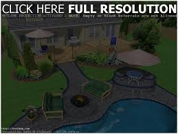 Design Your Own Home Landscape Backyards Charming Beautiful Backyard Ideas Backyard Sets