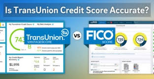 trans union credit bureau is transunion credit accurate vantagescore vs fico