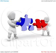 free puzzle piece template clipart puzzle pieces together collection clipart illustration of two white