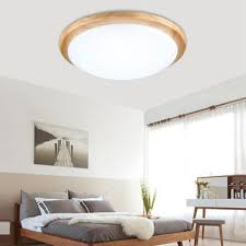 round 40w led ceiling light fixture l bedroom kitchen best wood light fixtures products on wanelo