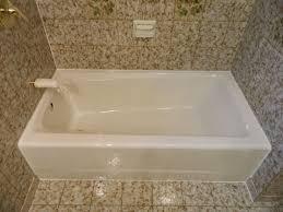 Colored Bathtubs Bathroom Compact Almond Bathtub Inspirations Cool Bathtub