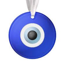 evil eye charm ornaments keepsake ornaments zazzle
