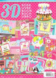 Book Birthday Card Birthday Cards 3d Decoupage A4 Book By Studio Light