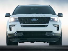 suv ford explorer new 2018 ford explorer price photos reviews safety ratings