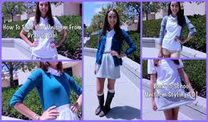 how to style uniforms u0026 dress codes for back to 2013