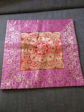 handmade square indian south asian home décor pillows ebay