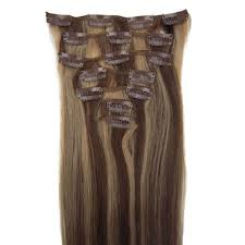 8 Inch Human Hair Extensions by 20 Inch Goddess Straight Clip In Human Hair Extensions 4 27 8 Pieces