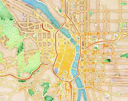 Stamen Maps Stamen Design U0027s Watercolor Portland 20x200