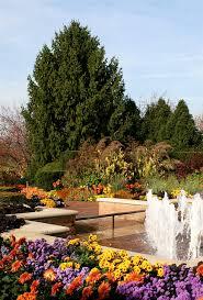 Botanical Gardens In Illinois Autumn At The Chicago Botanic Garden Chicago Gardens And