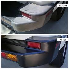 amazon com solution finish black plastic u0026 vinyl restorer use