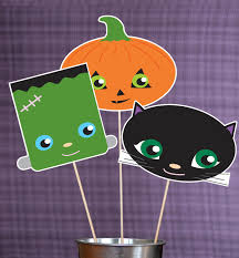 Kids Halloween Printables by Trick Or Treat Halloween Printable Photo Booth Props Paper And
