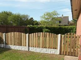 6ft x 2ft arched palisade wooden fencing panels buy arched