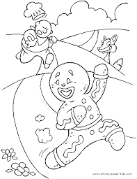 shrek gingerbread man coloring pages coloring pages