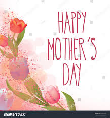Mother Day Card by Happy Mothers Day Card Full Vector Stock Vector 559281856