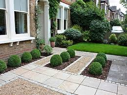 attractive garden design ideas for front of house small flower