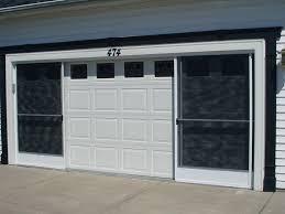 double garage screen door ideas opening the garage screen door image of elegant design garage screen door