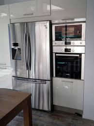 cuisine avec frigo americain cuisine cuisine exterieur et frigo cuisine design et