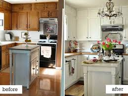 cheap kitchen makeover ideas before and after before and after remodel michigan home design