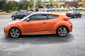 2013 orange hyundai veloster turbo trust auto used cars