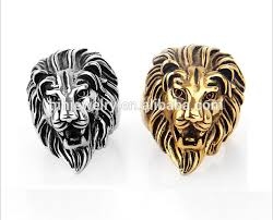rings of men fashion lion rings lion finger ring for men women