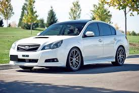 white subaru black rims oversteer konig wheels