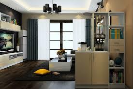 3d minimalist living room partition cabinet design interior design