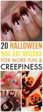 20 spooky halloween nail art designs