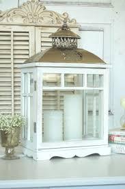 Esszimmer Im Shabby Look Amazon De Große Landhaus Laterne Windlicht In Shabby Chic Weiß