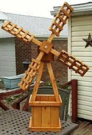diy decorative windmill wooden ornament garden 1