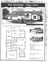 pebblecreek real estate u2013 floor plan marbella 2841