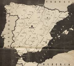 Maps Spain by Spanish Civil War Maps Modern Records Centre University Of Warwick