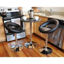 kitchen bar stool and table set acme kitchen dining room furniture furniture the home depot
