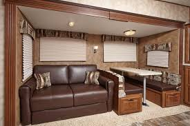 Rv Dinette Booth Bed Rv Decor Cruiser Fifth Wheel Aire Series Cfl30db Sofa U0026 Booth