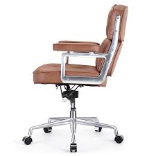 staples westcliffe bonded leather managers chair brown staples