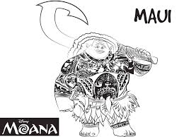 moana coloring pages free printable coloring pages
