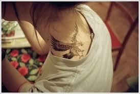 tattoo eagle girl simple eagle tattoo designs for girl on neck white eagle tattoo