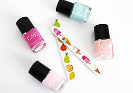 manicure at home tips with crabtree u0026 evelyn nail lacquers and