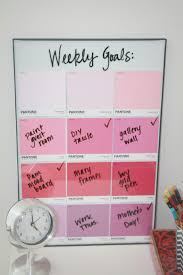 dry erase calendar with flair home crafts pinterest paint